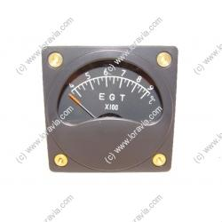 Exhaust temperature instrument